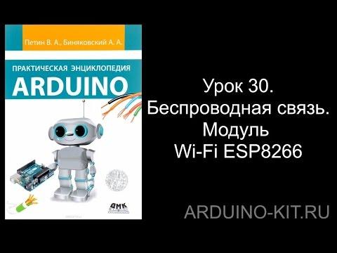 Проект 30: Беспроводная связь. Модуль Wi-Fi ESP8266