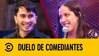 Raúl Meneses VS Isabel Fernández | Duelo De Comediantes | Comedy Central LA