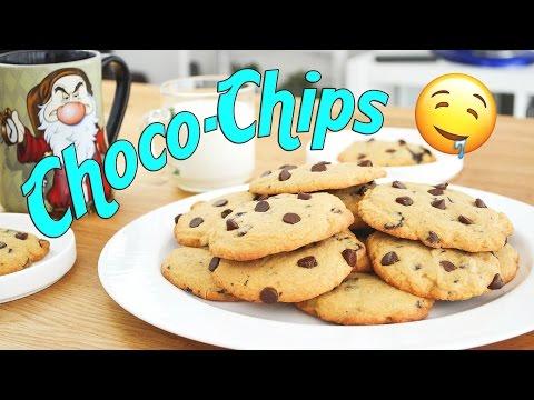 Galletas Choco-Chips 🍪 Receta    Tan Dulce