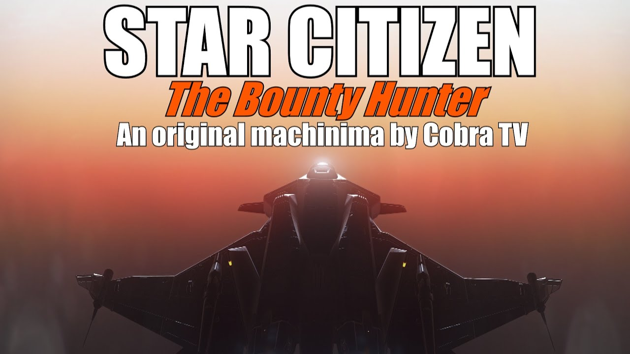 STAR CITIZEN! A day in the life of a bounty hunter! Machinima, gameplay! Not a tutorial. Roleplay.