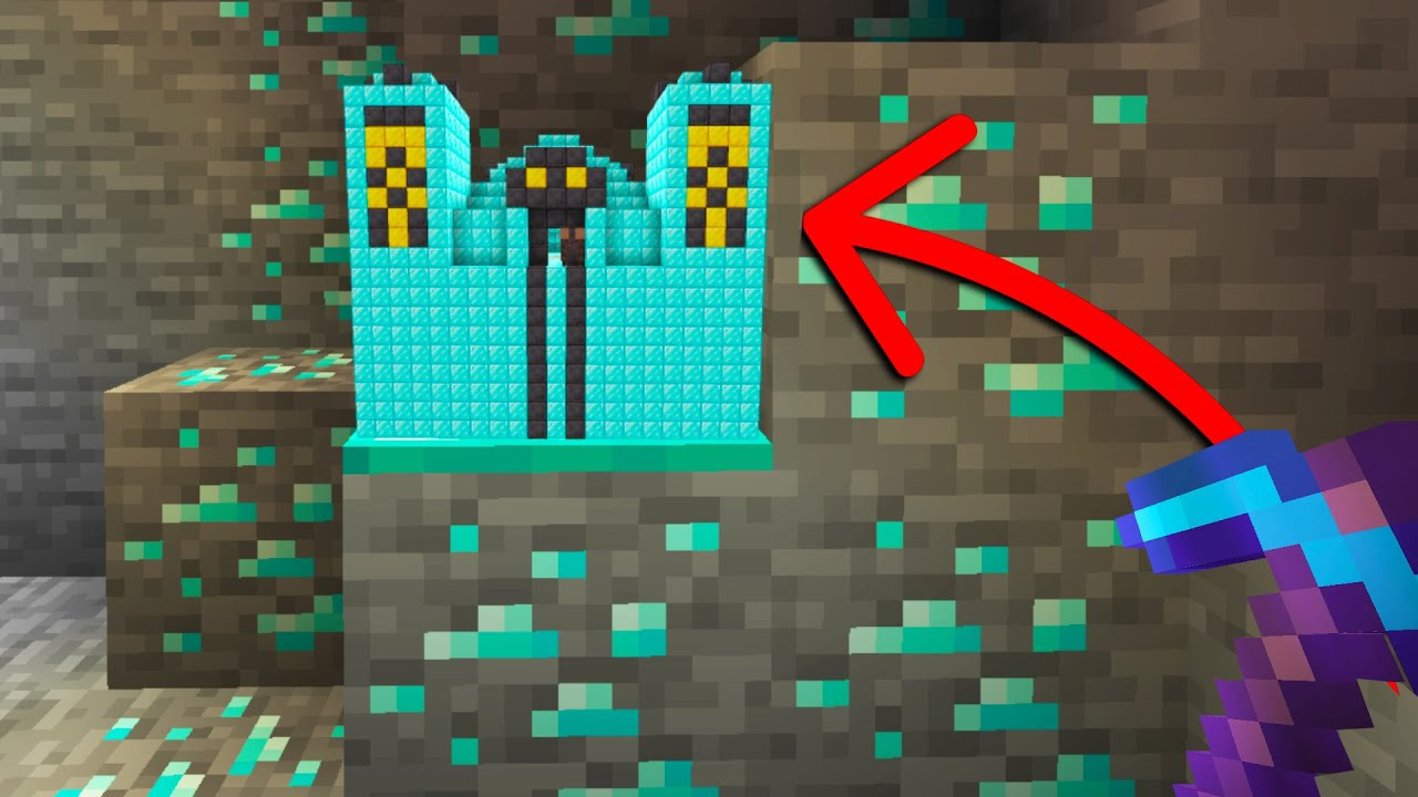 Minecraft, But Every Ore Spawns OP Structures...