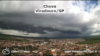 Avanço de chuva em Viradouro / SP - 15/01/21
