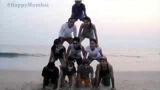 We are HAPPY  Mumbai (Pharrell Williams  Happy)