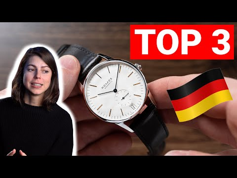 NOMOS Glashütte TOP 3 WATCHES | Made In Germany Part 1 | JENNI ELLE