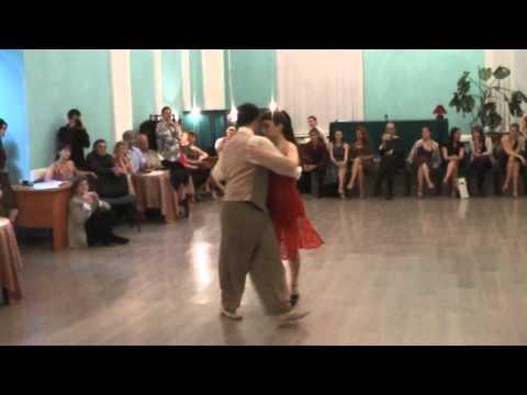 Mario De Camillis y Bárbara Wainwright. Russia. Vals