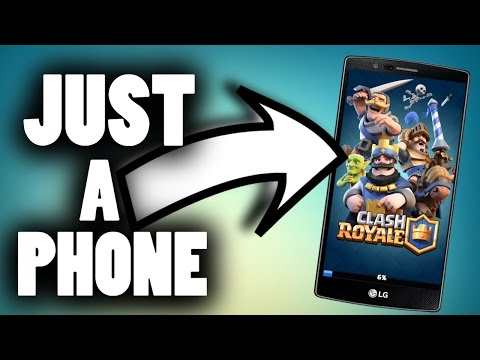 HOW TO MAKE CLASH ROYALE VIDEOS WITH JUST YOUR PHONE | EDITING / RECORDING GAMEPLAY ECT...