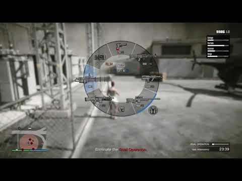 GTA 5 - Glitchy Gunrunning resupply crate