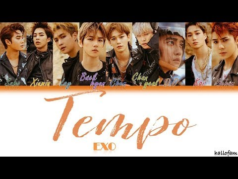 EXO - 'Tempo' (Han/Rom/Indo) Color Coded Lyrics (Sub Indo)