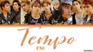 EXO - 'Tempo' (Han/Rom/Indo) Color Coded Lyrics (Sub Indo)