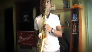 P.Mauriat Alto Le Bravo Sax donated to Samuel Batista panamanian student