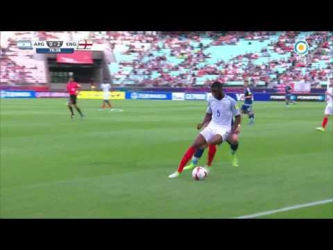Mundial Sub 20 2017 - Argentina vs. Inglaterra - Expulsión de Lautaro Martínez por Video Ref