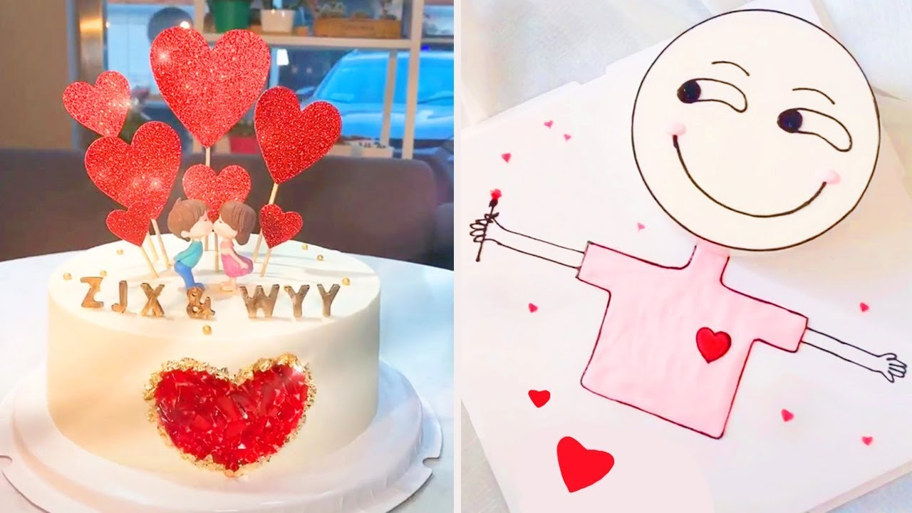 DIY Valentines Day Treats | 15 Amazing Valentine's Day Cake & Yummy Chocolate Dessert Ideas