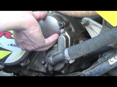 Suzuki LT-R 450 Oil Change