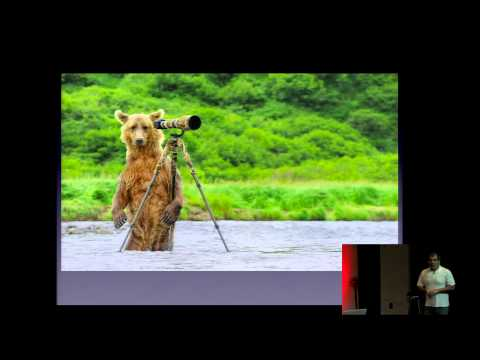 Robert O'Toole shares his passion for nature photography at the 2013 OC Photo Summit