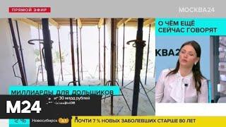Правительство выделит 30 млрд рублей на решение проблем дольщиков - Москва 24