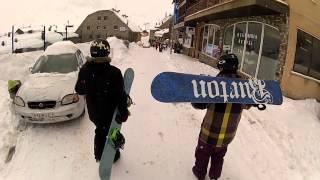 SnowBoard Trip Andorra 2013 - Pas De La Casa - Gopro Hero3 Black Edition