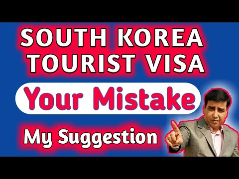 SOUTH KOREA TOURIST VISA TRICK