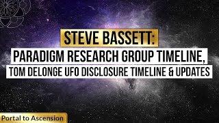 steve bassett paradigm research group timeiine tom delonge ufo disclosure timeline updates