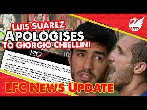 Luis Suarez Apologises to Chiellini | Uncensored LFC Fan Reaction