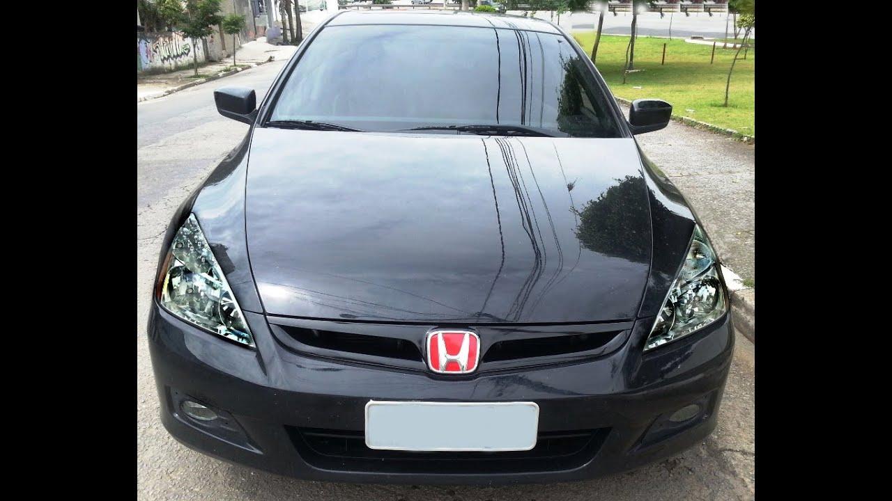 2007 Honda Accord Custom >> Accord 2006 V6 5AT 75 shot Nitrous - YouTube