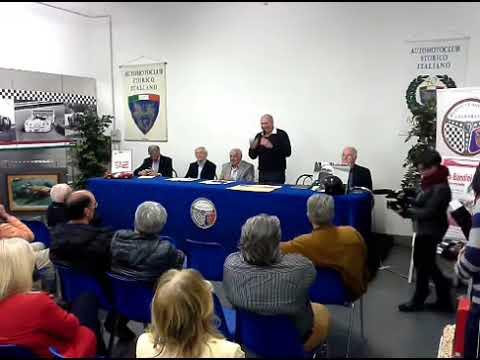 Serata Lorenzo Bandini parte 1 di 2 -   Ruote Classiche Club Prato