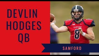 Devlin Hodges, QB, Samford | 2019 NFL Draft Prospect Highlights | Draft Diamonds
