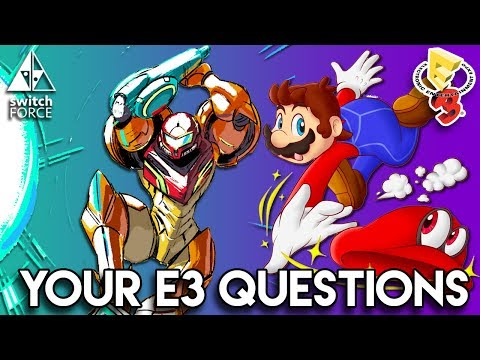 Your E3 Questions ANSWERED! Mario DLC, Next Direct, Switch Animal Crossing, Pikmin 4