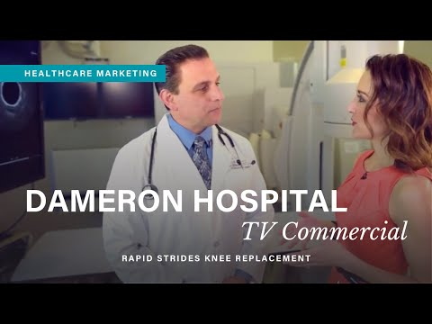 Dameron Hospital TV Commercial | Rapid Strides Knee Replacement | Healthcare Marketing