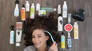 The BEST Products for Wavy Curly Hair