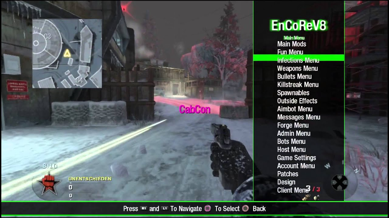 [RELEASE/PS3] Black Ops 1 GSC Mod Menu and PS3 Injector ...