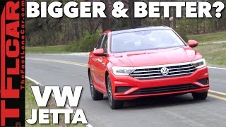 2019 VW Jetta First Drive Review: Bigger And Better?