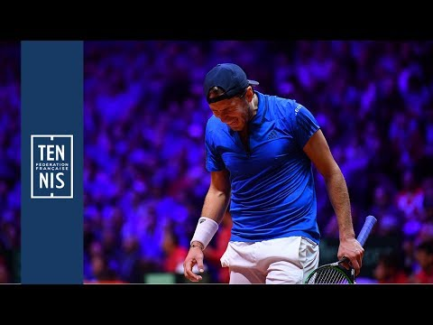 Highlights : Lucas Pouille vs Marin Cilic - Coupe Davis 2018 | FFT