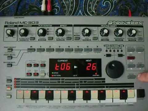 Test Roland Mc 303 ebay num 322929988387