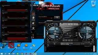видео Скачать Asus GPU Tweak