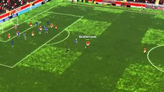 Man Utd mot Leicester - 17 minutter