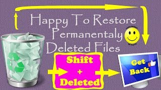 How To Recover Deleted Files | Data Recovery Easily | Get Back Lost Files