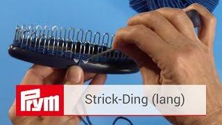 Das Prym Strick-Ding | Strick-Tutorial mit der Strickhilfe von Prym