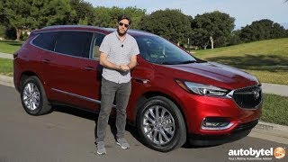 2018 Buick Enclave Premium AWD Test Drive Video Review