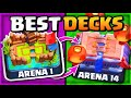 BEST DECKS for EVERY ARENA in Clash Royale 2021! Part 1