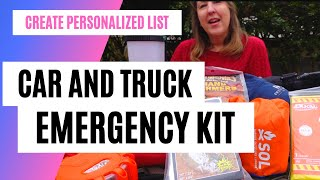 Car Emergency Kit List Personalized for You, Your Weather, Your Activities, Your Family & Pets