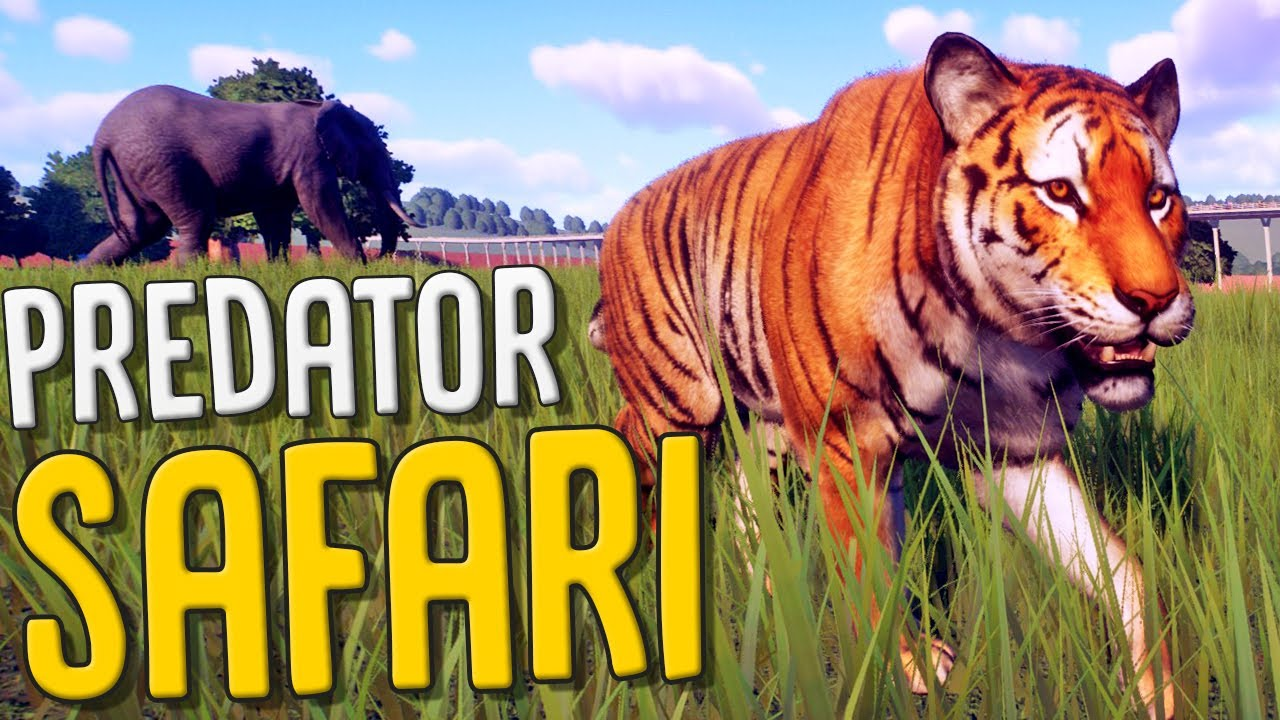 I Let ALL The Animals Roam Wild - The Predator Safari - Planet Zoo Gameplay