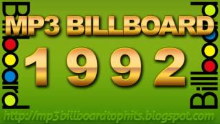 mp3 BILLBOARD 1992 TOP Hits mp3 BILLBOARD 1992