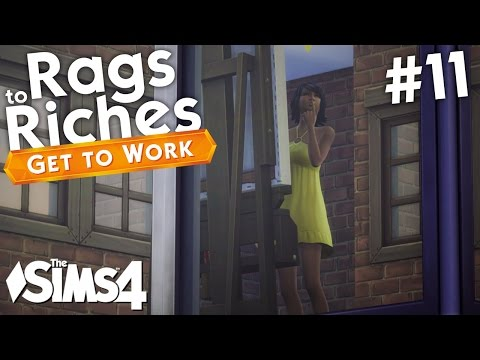 The Sims 4 Get To Work - Rags to Riches - Part 11