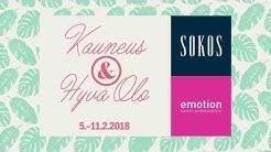 Kauneus ja Hyvä Olo 5.-11.2.2018 | Sokos & Emotion