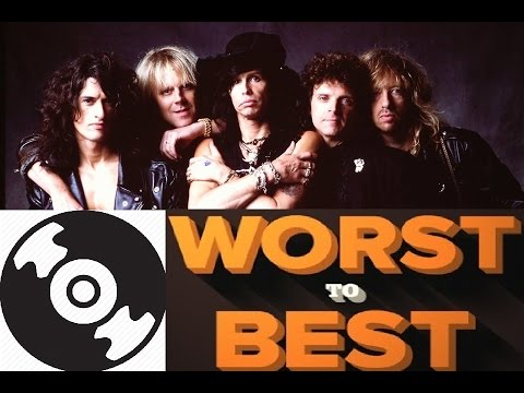 Aerosmith Worst To Best Albums - TurnTable Tuesdays