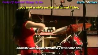Скачать The White Stripes Blue Orchid Inglés Y Español Party Of Special Things To Do