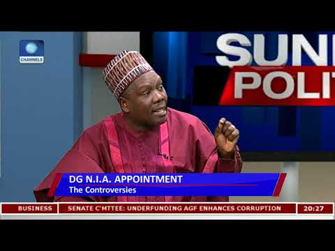 Download Youtube: NIA Appointment: Senator Alleges New Intelligence Boss Failed Exams Pt.2 |Politics Today|
