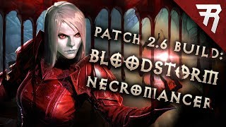 Diablo 3 2.6.1 Necromancer Build: BLOODstorm Trag