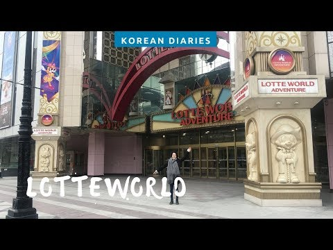 A Winter Day In LOTTE WORLD, Korean Diaries Pt.8