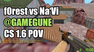 POV: f0rest vs. Na'Vi @GAMEGUNE fnatic CS 1.6 Demo
